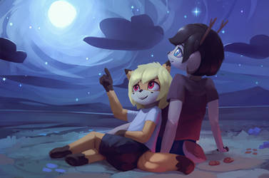Nikowari and Viki by Rodrigues404