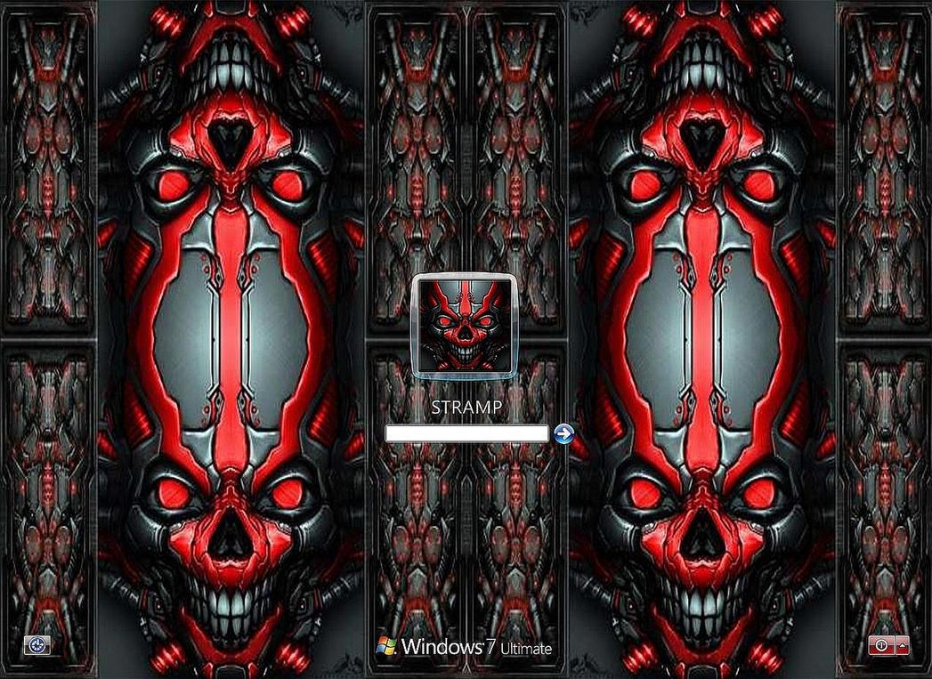 Mech Skull Vista7 by stramp1a