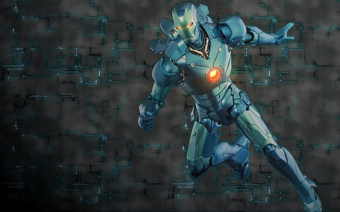 Iron Man Mark 3_Stealth_wallpak by stramp1a