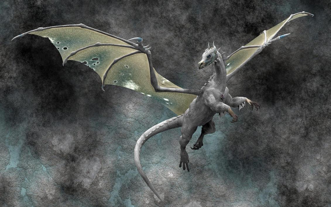 Winter Dragon_wallpak by stramp1a