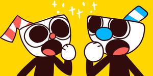 (ftu) cuphead and mugman matching icons
