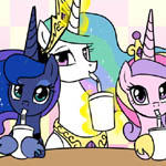 Our Milkshakes Bring All the Ponies to the Yard.