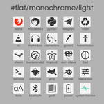 #flat/monochrome/light