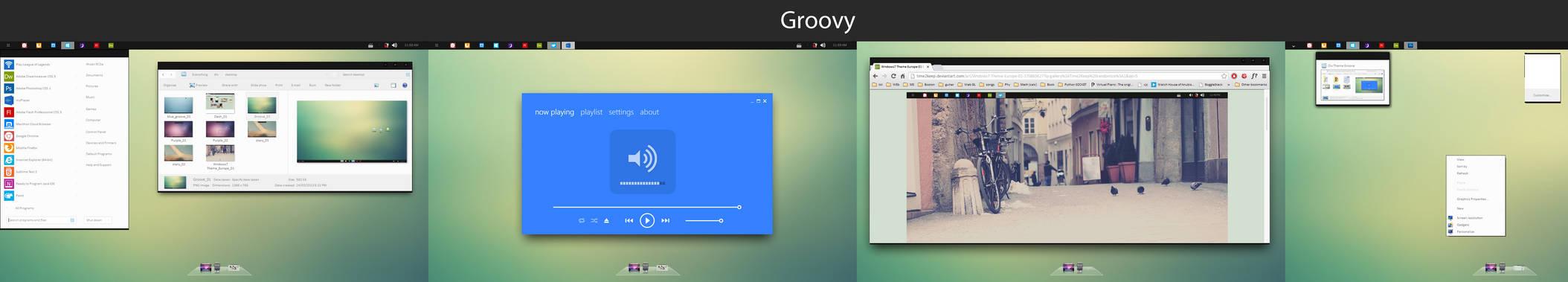 Windows 7 Groovy Theme