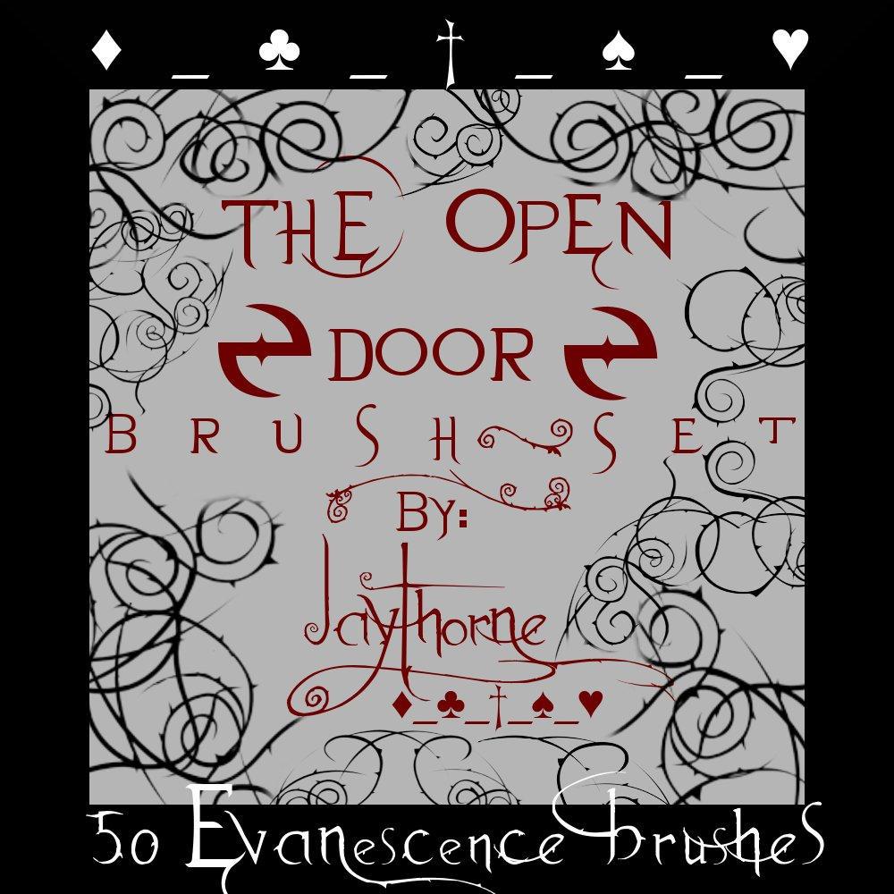 xx_Evanescence GIMP Brush Set. by Jaythorne