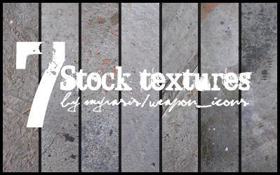 7 Cement Texture Stocks by draconis393