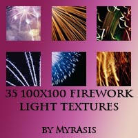 Firework Light textures set 1 by draconis393