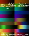 Lighten Gradients