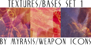 Textures-Bases Set 1 by draconis393