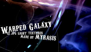 Warped Galaxy by draconis393