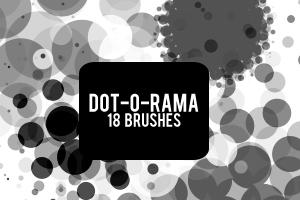 Dot-O-Rama Brushes by draconis393