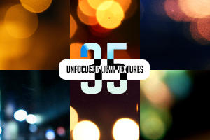35 Unfocused Light Textures