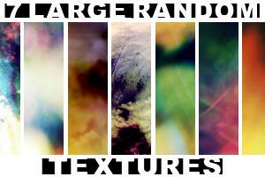 7 Large Random texturea by draconis393