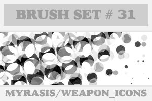 Brush Set 31 - Halftones by draconis393