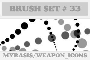 Brush Set 33 - Feeling Dotty 2 by draconis393