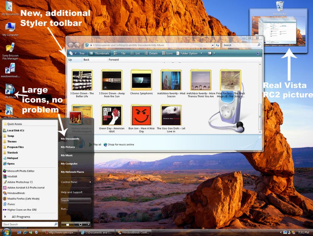 Vista RC2 - update 1 by JuanPerez