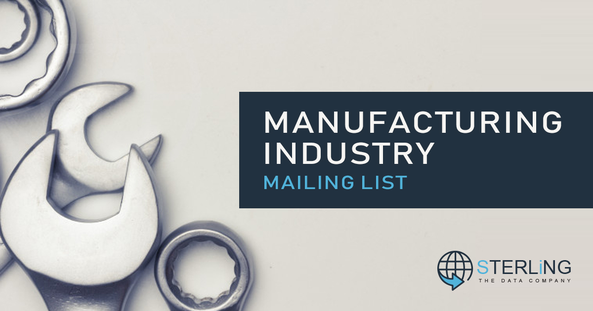 sterlingsolns com-Manufacturing Industry Mailing l by
