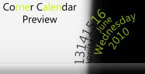 360n Corner Calendar Rainmeter