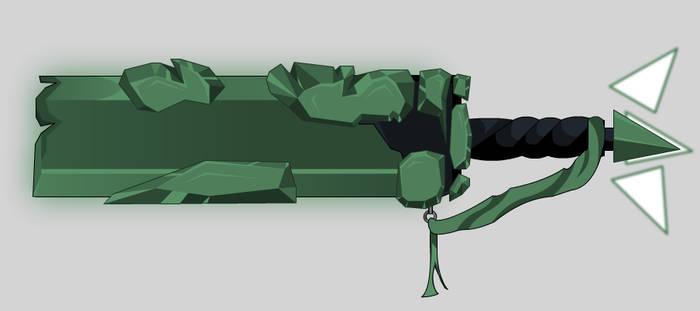 Jade or Emerald Sword Animated