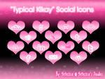 'Typical Kikay' Social Icons