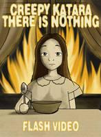 Creepy Katara-There is Nothing by Jiggsokeken