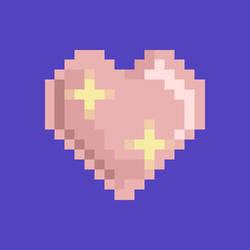 Sparkling heart by KatyShaga