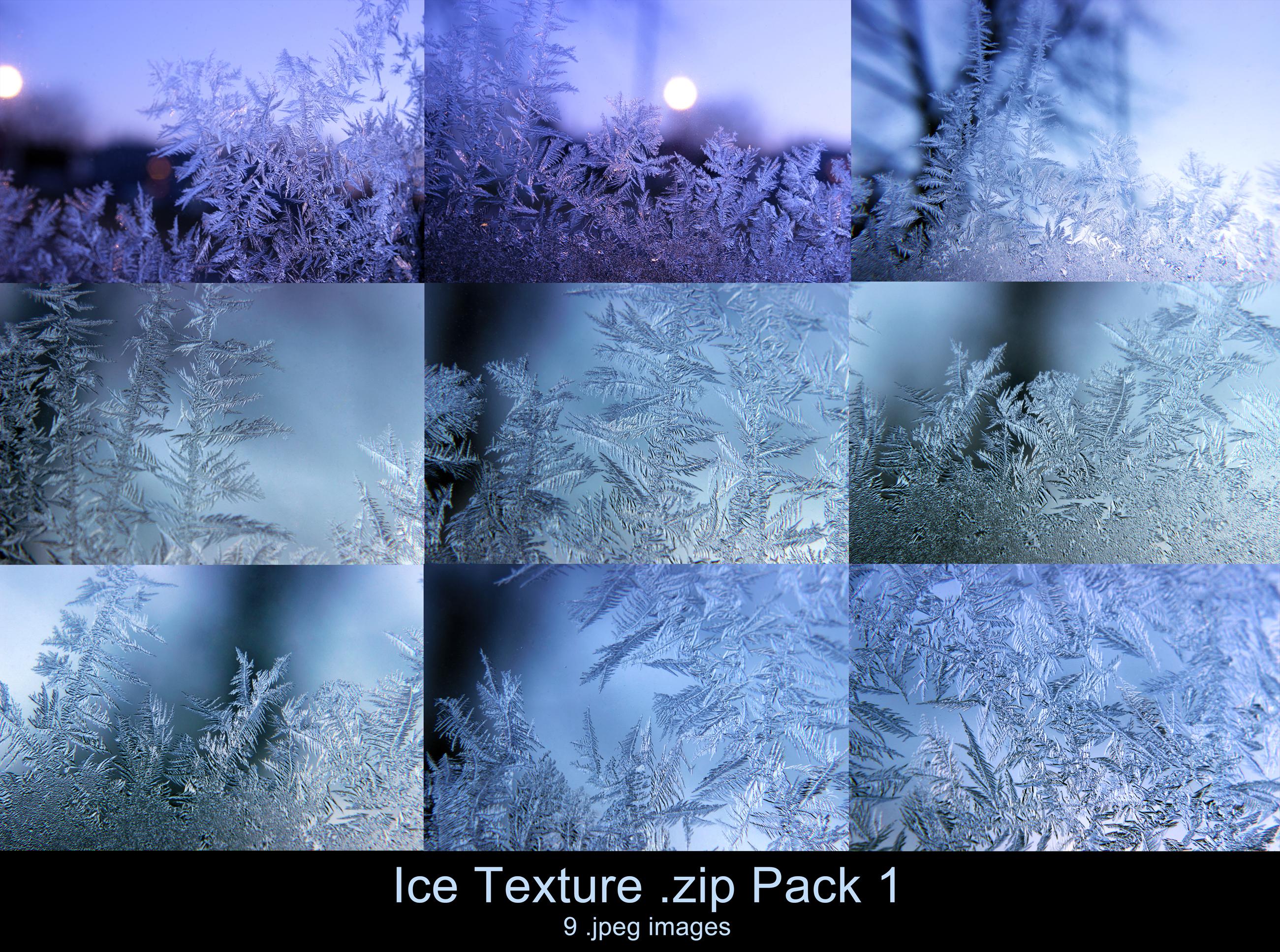 Ice Texture .zip Pack 1