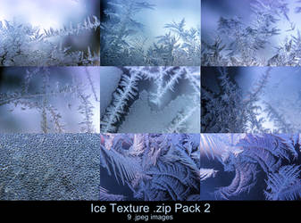 Ice Texture .zip Pack 2 by Melyssah6-Stock