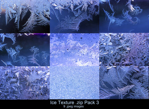 Ice Texture .zip Pack 3