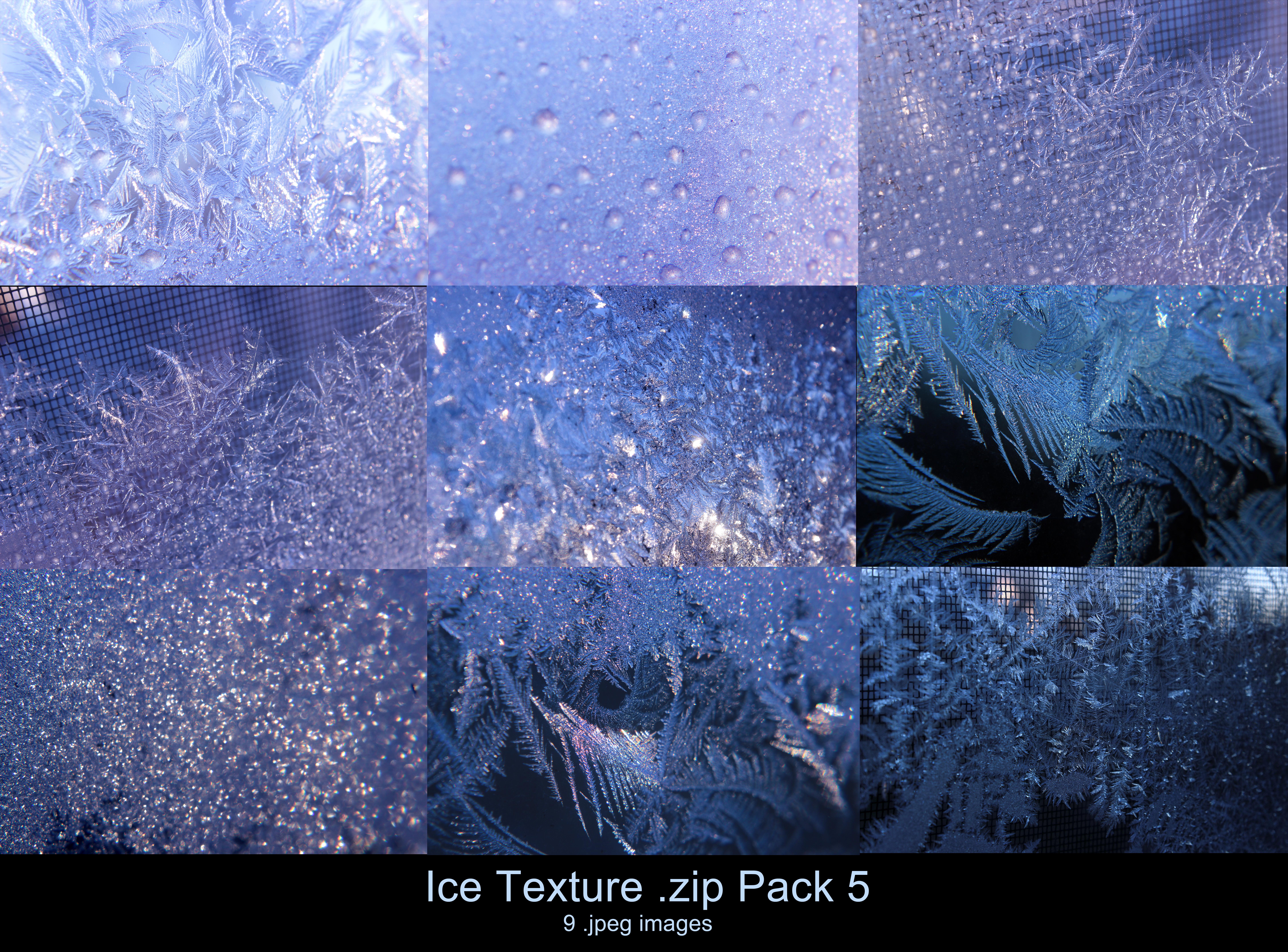 Ice Texture .zip Pack 5