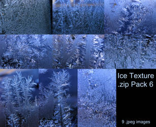 Ice Texture .zip Pack 6 by Melyssah6-Stock