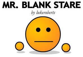 Mr Blank Stare by lukeroberts