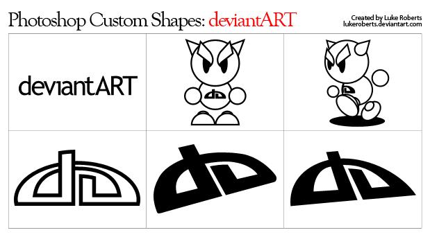 Custom Shapes: deviantART by lukeroberts