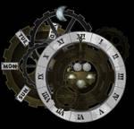 Steampunk Flash Clock