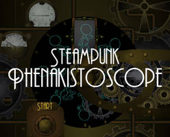 Steampunk Phenakistoscope by aternox