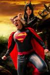 Wonder woman vs Superman Gif