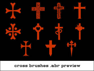 Small Cross Brushset
