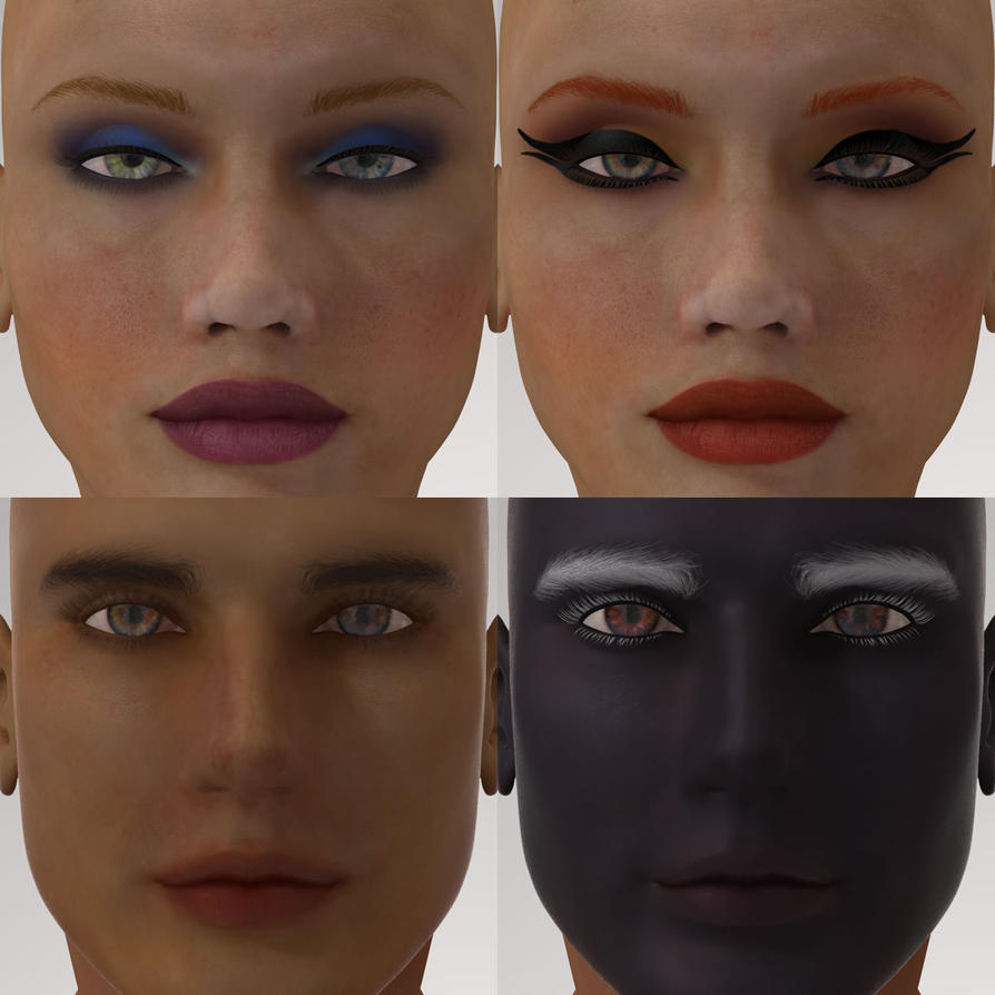 Dawn and Dusk Texture Masks 1 by kobaltkween