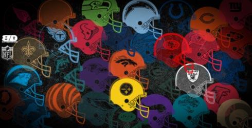 NFL Helmets by munzilein
