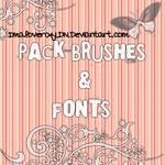 Brushes and font pack