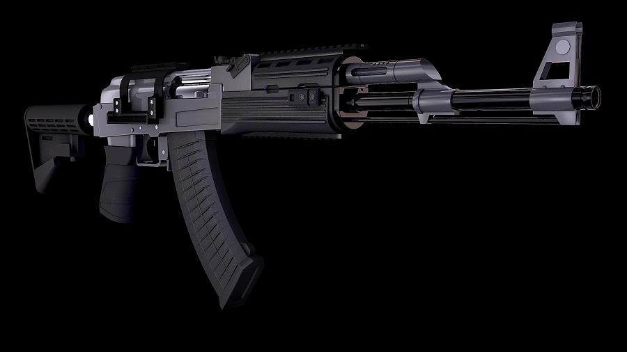 AK 47M by punkandroll