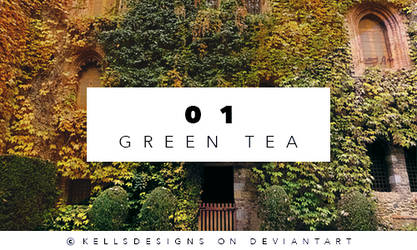 PSD 01: Green Tea. by Kellsyy