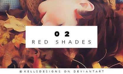 PSD 02: Red Shades. by Kellsyy
