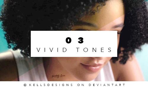 PSD 03: Vivid Tones. by Kellsyy