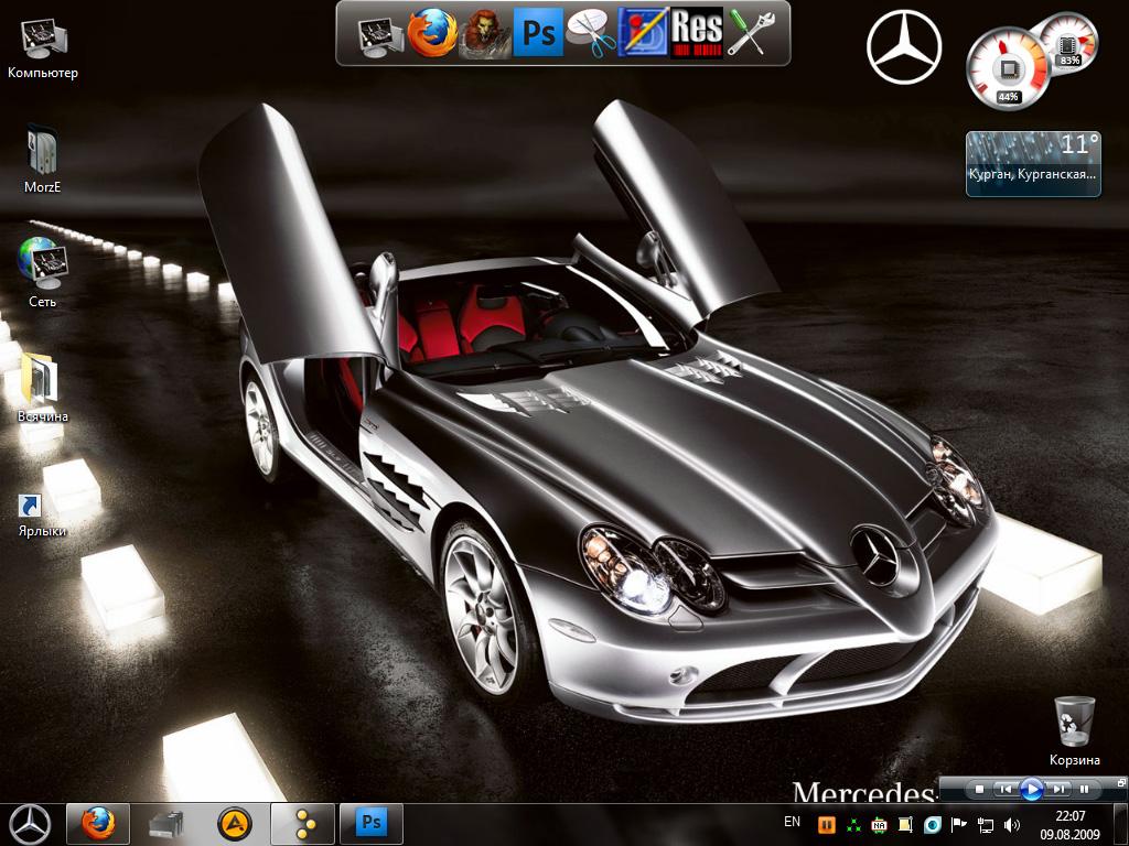 Windows 7 Mercedes Theme by MorzzE on DeviantArt