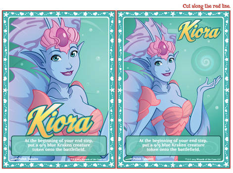 MTG | Koira Emblems and Kraken Tokens | Print File