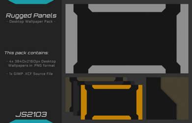 Rugged Panels - Desktop Wallpaper Pack