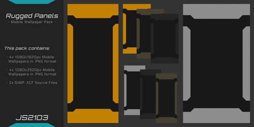 Rugged Panels - Mobile Wallpaper Pack