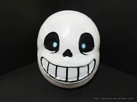Undertale Cosplay - Sans Mask by DeluCat