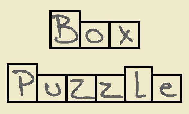 Box Puzzle Font by WurdBendur
